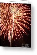 Independence Day Sparklers 2 Greeting Card by Deborah Smolinske