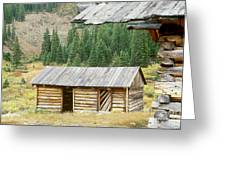 Independence Ghost Town Greeting Card by David Davis