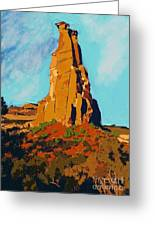 Independence Rock Greeting Card by Craig Nelson