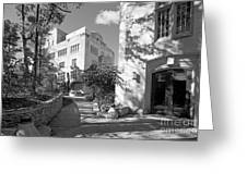 Indiana University Morrison Hall Greeting Card by University Icons