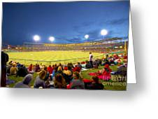 Indianapolis Indians Greeting Card by David Haskett