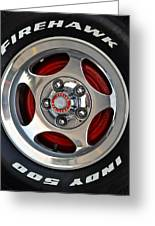 Indy 500 Greeting Card by Frozen in Time Fine Art Photography