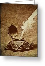 Inkwell II Greeting Card by Tom Mc Nemar