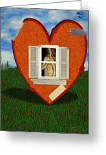 Inner Beauty Greeting Card by Jeff Kolker