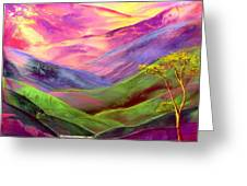 Inner Flame Greeting Card by Jane Small