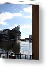 Inner Harbor At Baltimore Md - 12125 Greeting Card by DC Photographer