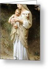 Innocence Greeting Card by William Bouguereau