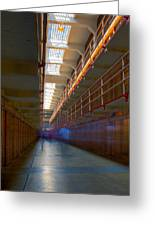 Inside Alcatraz Greeting Card by James O Thompson
