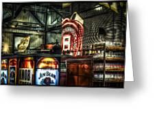 Inside Jim Beam America Stillhouse Greeting Card by Dave Lyons