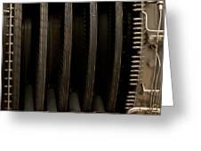 Inside The Engine Greeting Card by Christi Kraft
