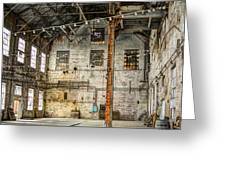 Inside The Old Sugar Mill Greeting Card by Agrofilms Photography