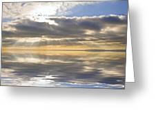 Inspiration Reflection Greeting Card by Matthew Gibson