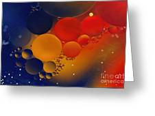 Intergalactic Space 3 Greeting Card by Kaye Menner