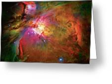 Into The Orion Nebula Greeting Card by The  Vault - Jennifer Rondinelli Reilly