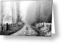 Into The Unknown Greeting Card by Rory Sagner
