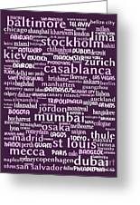 Intransit 20130625bwmag Greeting Card by Wingsdomain Art and Photography