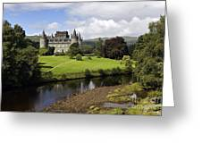 Inveraray Castle - D002464 Greeting Card by Daniel Dempster