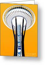 Inverted Needle Greeting Card by Chris Anderson