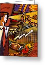Investor Greeting Card by Leon Zernitsky