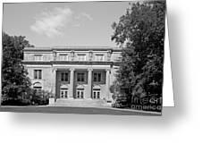 Iowa State University Mac Kay Hall Greeting Card by University Icons