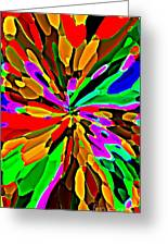 Iphone Cases Colorful Flowers Abstract Roses Gardenias Tiger Lily Florals Carole Spandau Cbs Art 180 Greeting Card by Carole Spandau