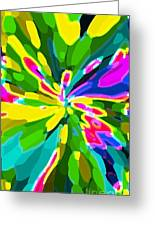 Iphone Cases Colorful Flowers Abstract Roses Gardenias Tiger Lily Florals Carole Spandau Cbs Art 181 Greeting Card by Carole Spandau