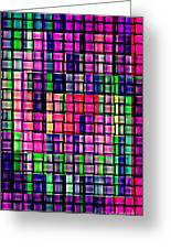 Iphone Cases Colorful Intricate Geometric Covers Cell And Mobile Phone Art Carole Spandau Cbs 169  Greeting Card by Carole Spandau