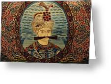 Iran King Abbas Carpet Museum Tehran Greeting Card by Lois Ivancin Tavaf