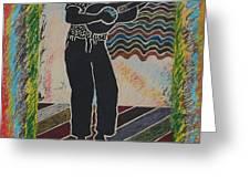 Irie Reggae 1 Greeting Card by John Powell