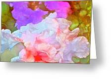 Iris 60 Greeting Card by Pamela Cooper