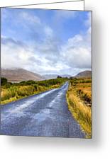 Irish Countryside Of Connemara Greeting Card by Mark Tisdale