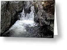 Irish Waterfall Greeting Card by Patrick J Murphy