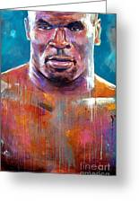 Iron Mike Greeting Card by Robert Phelps