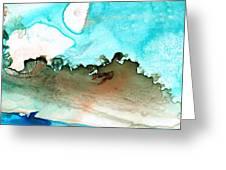 Island Of Hope Greeting Card by Sharon Cummings