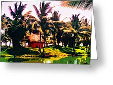 Island Paradise Greeting Card by CHAZ Daugherty