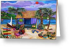 Island Time Greeting Card by Patti Schermerhorn
