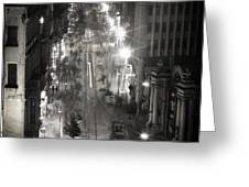 Istiklal Greeting Card by Taylan Soyturk