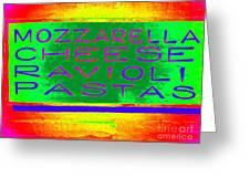 Italian Feast Greeting Card by Ed Weidman