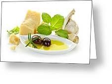 Italian Flavors Greeting Card by Elena Elisseeva