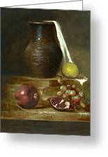 Italian Still Life Greeting Card by Cecilia  Brendel