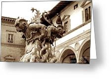 Italy Greeting Card by Anna and Sergey