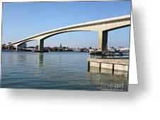 Itchen Bridge Southampton Greeting Card by Terri  Waters