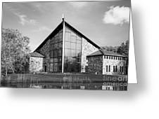 Ithaca College Muller Chapel Greeting Card by University Icons