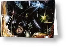 It's Full Of Stars  Greeting Card by Ryan Demaree