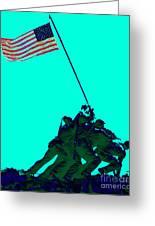 Iwo Jima 20130210m128 Greeting Card by Wingsdomain Art and Photography