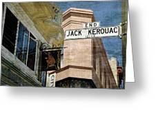 Jack Kerouac Alley And Vesuvio Pub Greeting Card by RicardMN Photography