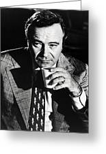 Jack Lemmon In Save The Tiger  Greeting Card by Silver Screen