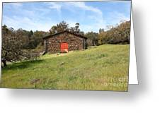Jack London Stallion Barn 5d22100 Greeting Card by Wingsdomain Art and Photography