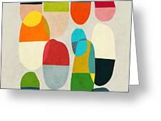 Jagged little pills Greeting Card by Budi Kwan