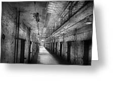 Jail - Eastern State Penitentiary - The Forgotten Ones  Greeting Card by Mike Savad